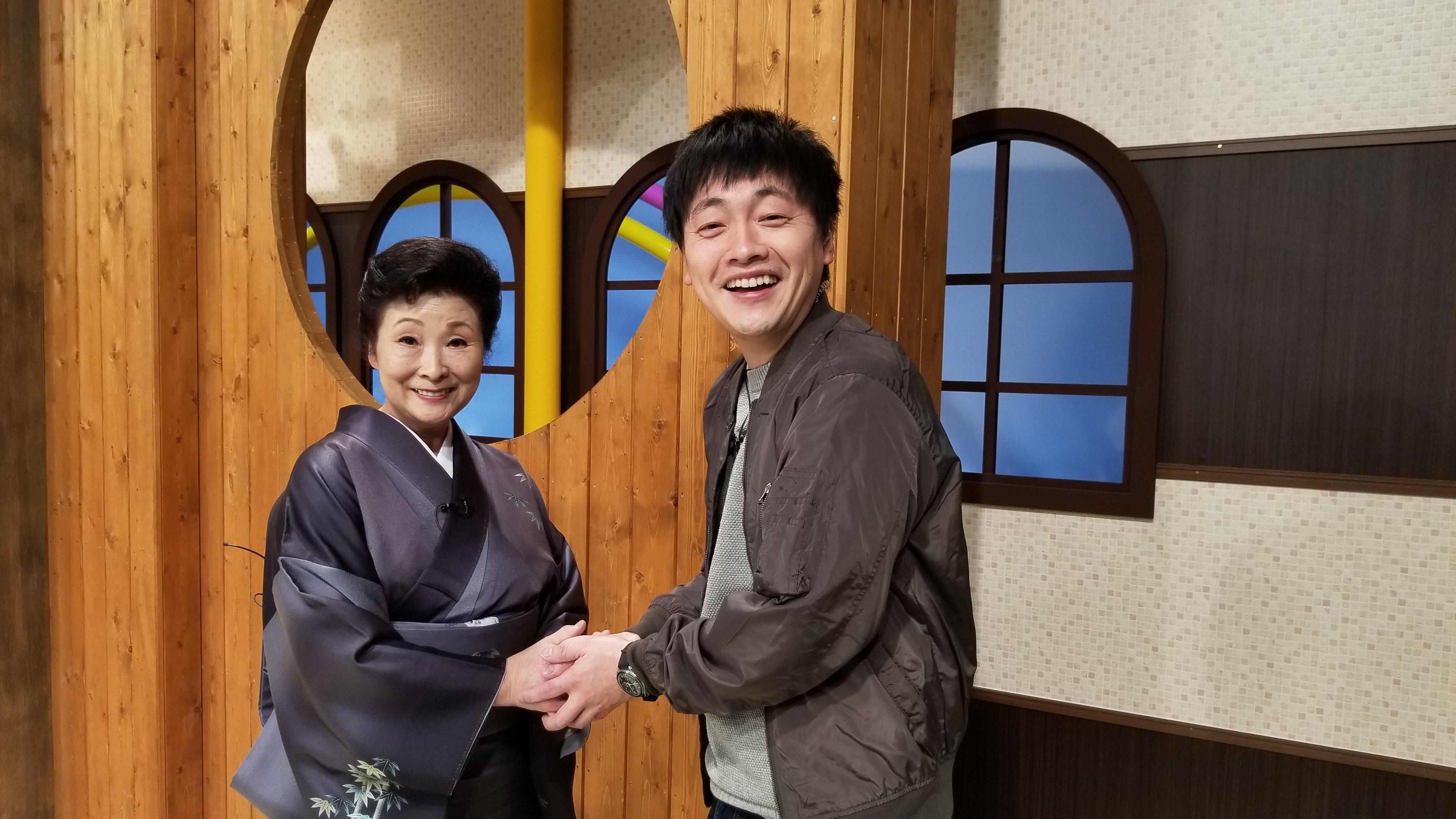 高橋竹山の一番弟子「西川洋子」サンとお会いしました。